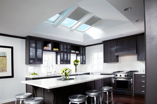 VELUX Kitchen Skylight Blinds